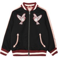 Willow Embroidered Bomber Jaclet