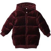Ruby Velvet Down Jacket