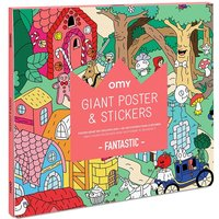 Fantastic Giant Poster with Stickers 100x70xm