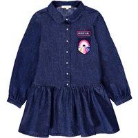 Mystery Chambray Shirt Dress