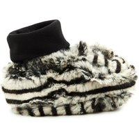Berry Faux Fur Slippers