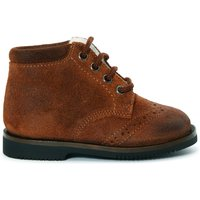 Linen Suede Laced-up Boots