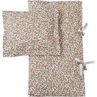 Floral Vine cotton percale bedding set