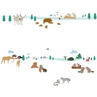 Northen Woods Wall Stickers