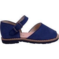 Frailera nubuck sandals