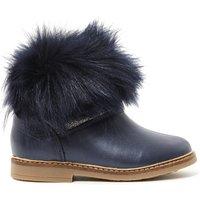 Retro Chabraque Fur Linen Boots