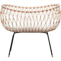Emil Rattan Handmade  Crib  70x50cm