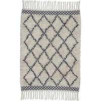Morocco cotton rug