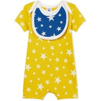 Bend pyjamas with removable bib