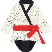 Ikebana anti-UV swimsuit