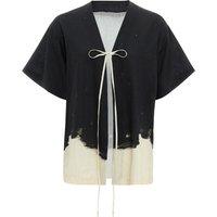 Haiku cotton and linen kimono