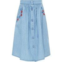 Bonnie Chambray Midi Skirt