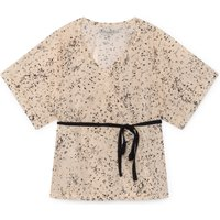Ikebana wrap blouse
