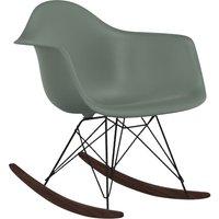 Eames RAR (Rocking Armchair Rod Base) Chair - Black Base - Charles & Ray Eames, 1950