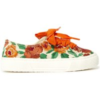 Embroidered trainers