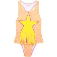 Star anti-UV 1 piece swimsuit