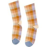 Carreaux Sous L'Eau Checkered Socks
