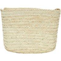 Square Palm Leaf Basket