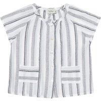 Miko cotton crepe blouse