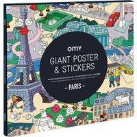 Giant Poster & Stickers - Paris