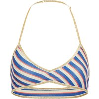 Adele Lurex Stripes Bra
