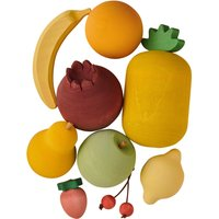 Fruit toy set in wood