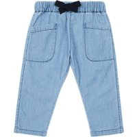Exclusive: Emile et Ida x Smallable - Chambray sirwal trousers
