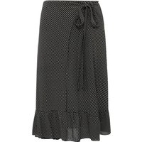 Jumpy midi skirt