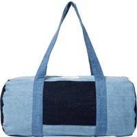 Charlot duffel bag in upcycled denim