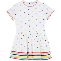 Stars organic cotton dress