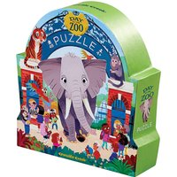 A day at the zoo puzzle - 48 pieces