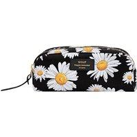 Daisy canvas toiletries bag