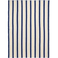 Pinstripe throw