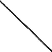 Seil Polypropylen geflochten schwarz Meterware 4 mm