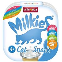 Animonda Katzensnack 'Milkies' Adult Selection 4 x 15 g