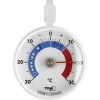 TFA Dostmann Kühlthermometer Kunststoff Ø 7 cm weiß