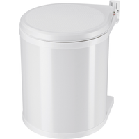 Hailo Einbau-Abfalleimer 'Compact-Box M' 15 l weiß
