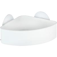 Wenko Eckablage 'Static-Loc Osimo' Kunststoff weiß, 14 x 9,5 x 17,5 cm