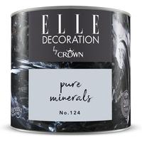 ELLE Decoration by Crown Premium Wandfarbe 'Pure Minerals No. 124' 125 ml