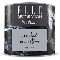 ELLE Decoration by Crown Premium Wandfarbe 'Crushed Moonstone No. 141' 125 ml