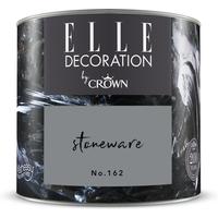 ELLE Decoration by Crown Premium Wandfarbe 'Stoneware No. 162' 125 ml