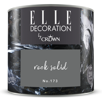 ELLE Decoration by Crown Premium Wandfarbe 'Rock Solid No. 173' 125 ml