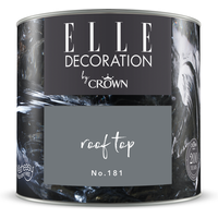 ELLE Decoration by Crown Premium Wandfarbe 'Roof Top No. 181'  125 ml