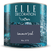 ELLE Decoration by Crown Premium Wandfarbe 'Immersed No. 275'  125 ml
