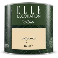 ELLE Decoration by Crown Premium Wandfarbe 'Organic No. 317' 125 ml