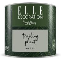 ELLE Decoration by Crown Premium Wandfarbe 'Trailing Plant No. 323' 125 ml
