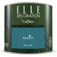 ELLE Decoration by Crown Premium Wandfarbe 'Exotic No. 342' 125 ml