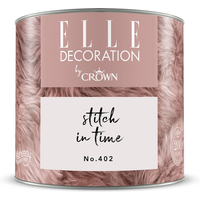 ELLE Decoration by Crown Premium Wandfarbe 'Stitch In Time No. 402' 125 ml
