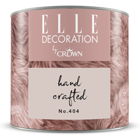 ELLE Decoration by Crown Premium Wandfarbe 'Hand Crafted No. 404' 125 ml