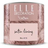 ELLE Decoration by Crown Premium Wandfarbe 'Satin Lining No. 415' 125 ml